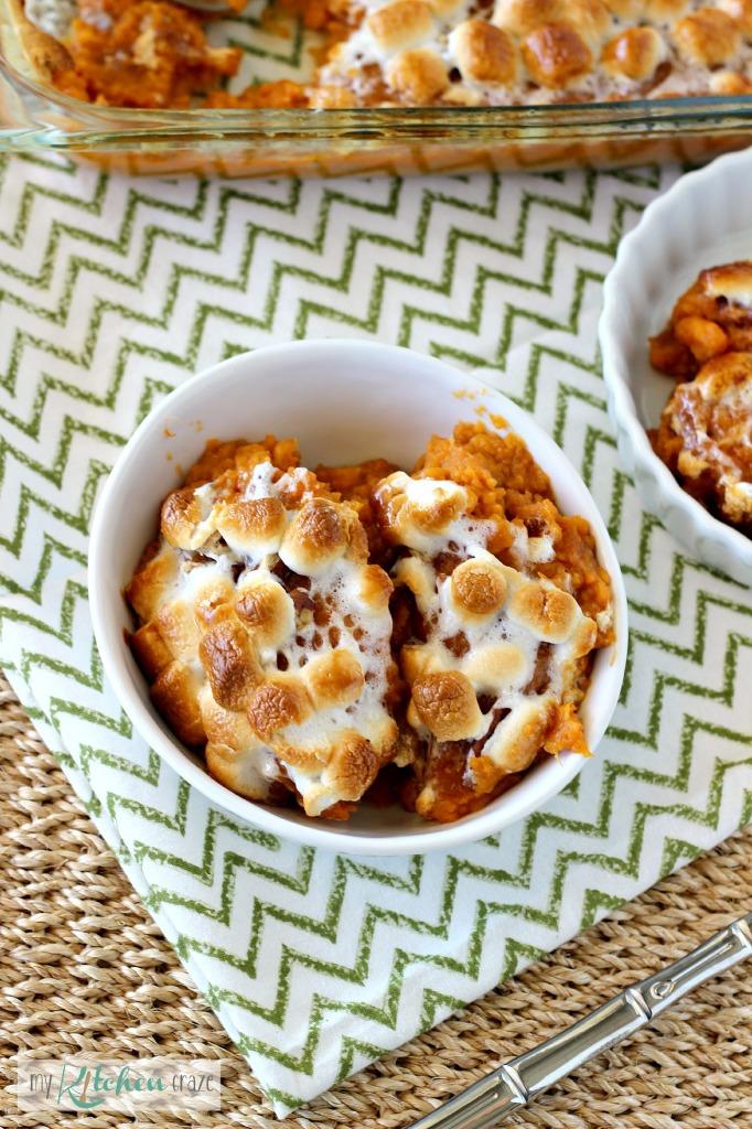 Sweet Potato Casserole 1