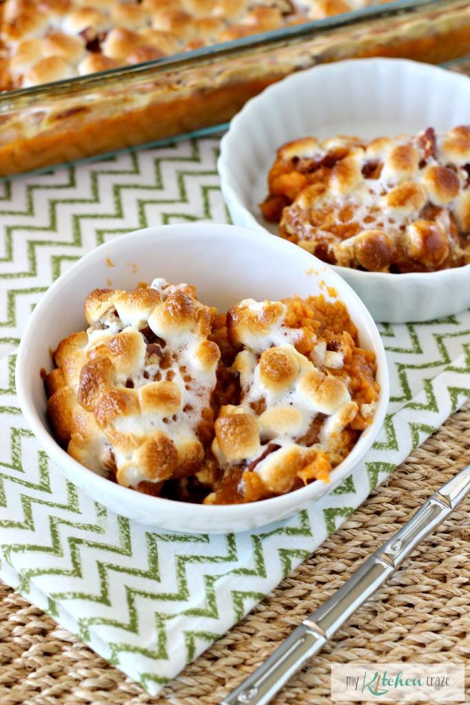 Sweet Potato Casserole 3