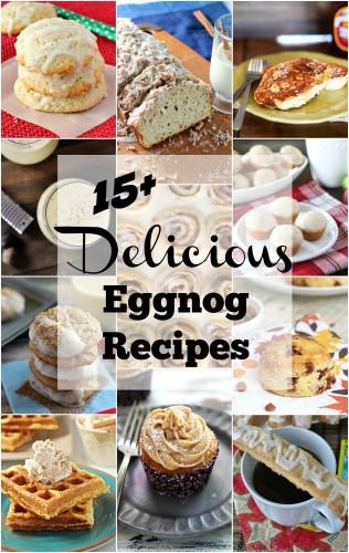 15+ Delicious Eggnog Recipes l My Kitchen Craze