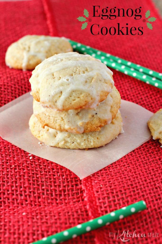 Eggnog Cookies l My Kitchen Craze