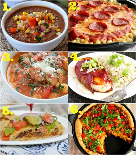 15+ Quick & Easy Recipes l My Kitchen Craze