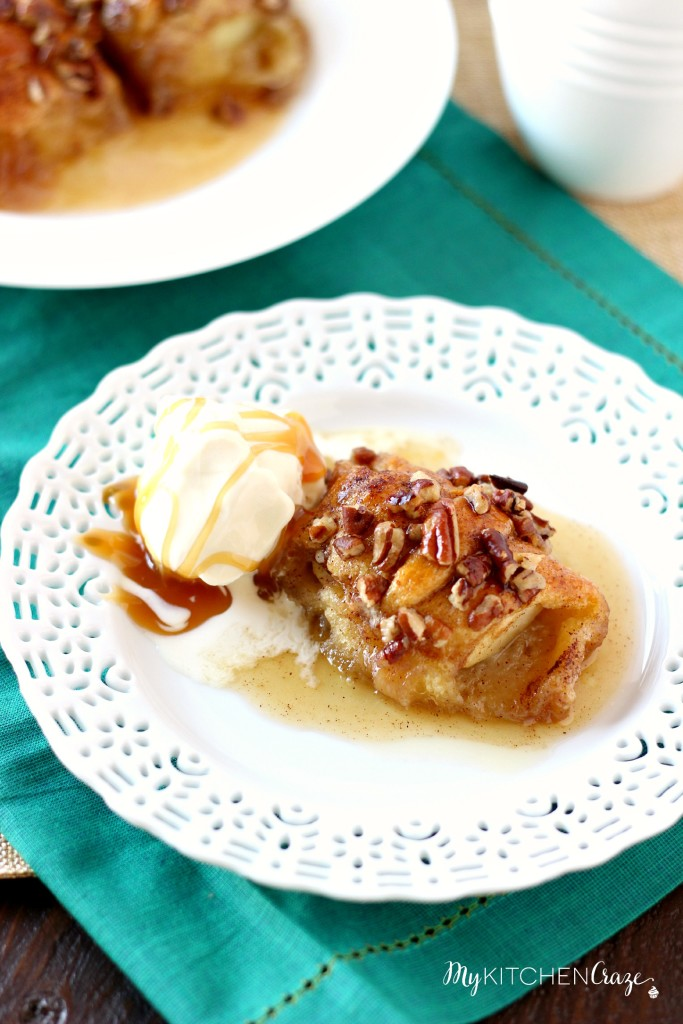 Apple Dumplings ~ mykitchencraze.com ~ An easy and delicious dessert that will wow your guests!
