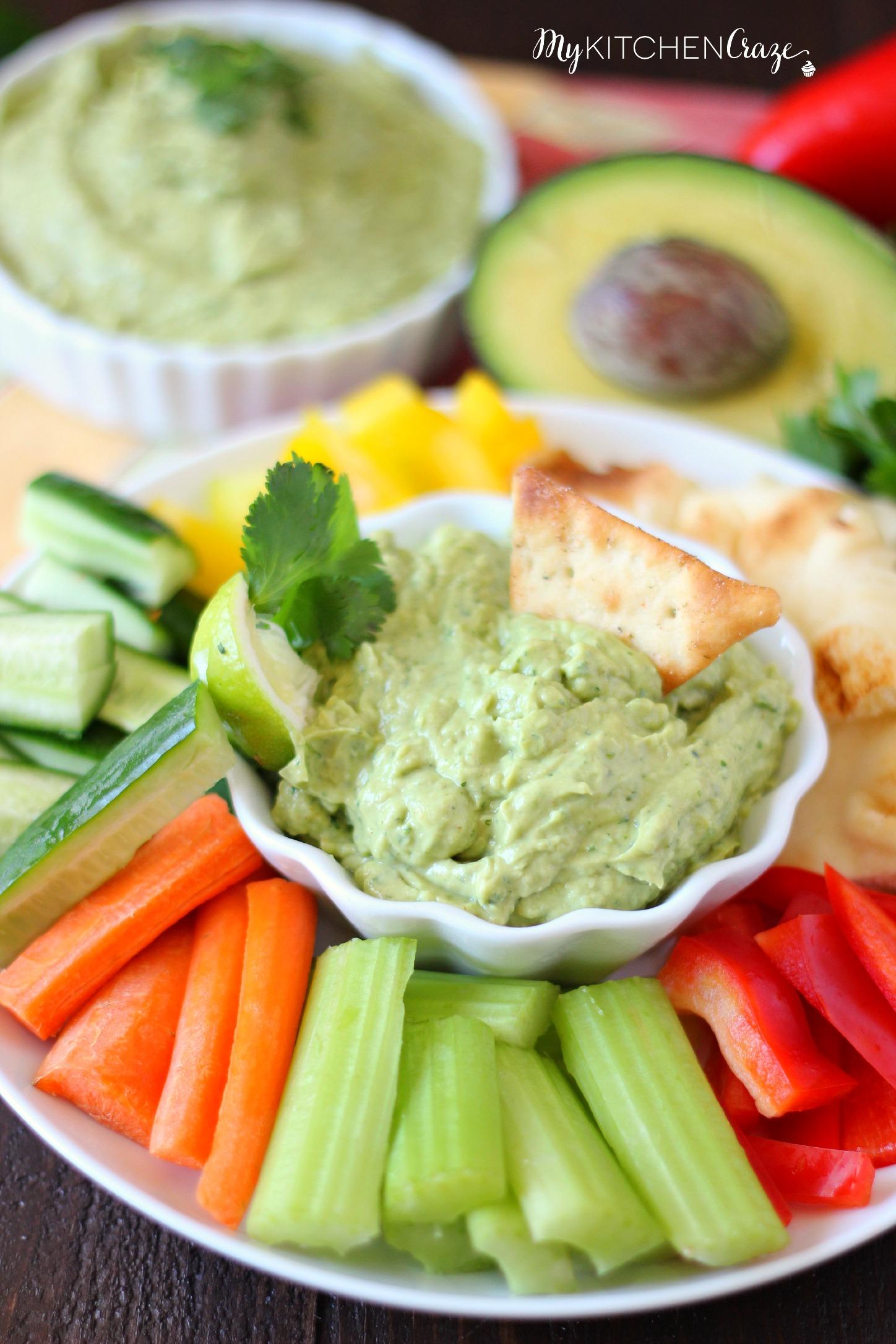 Lighter Avocado Dip Recipes — Dishmaps