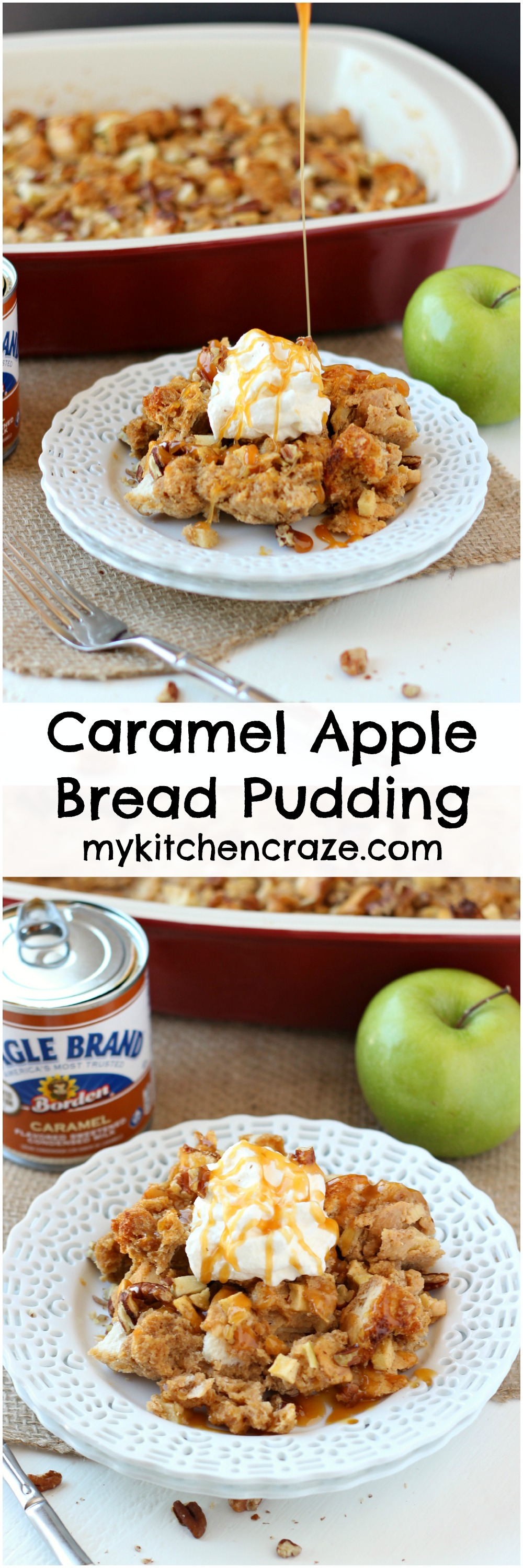 Spiced Caramel-Apple Bread Pudding Recipes — Dishmaps