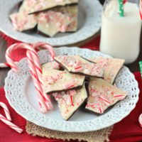 Easy Peppermint Bark ~ mykitchencraze.com ~ Perfect dessert for the holidays.