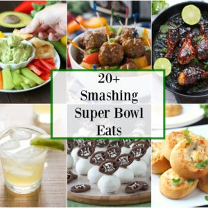 20+ Smashing Super Bowl Eats