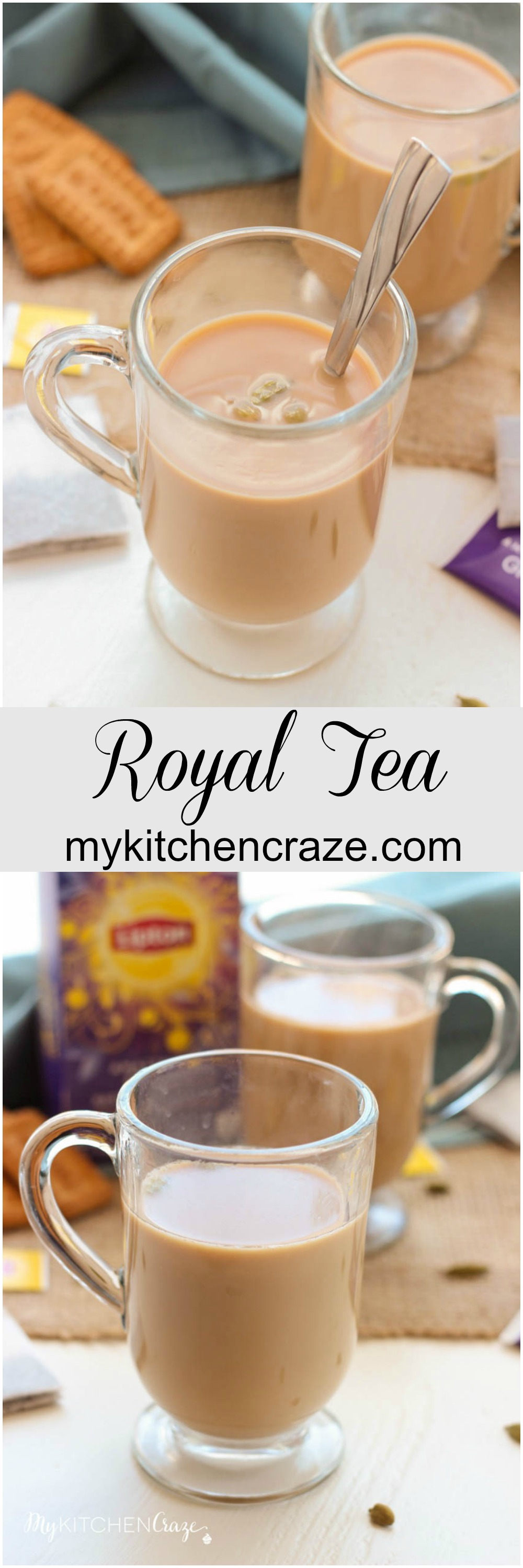 Royal Tea ~ mykitchencraze.com ~ Royal Tea is one of those teas that will leave you all warm and fuzzy inside. Plus it tastes delicious!