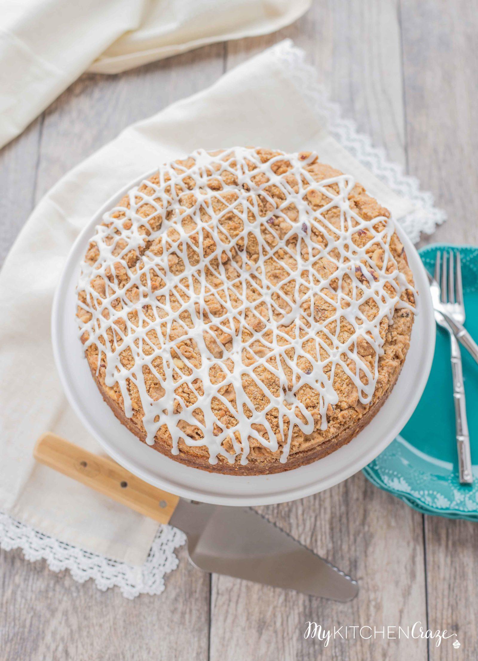 Hazelnut Streusel Coffee Cake ~ mykitchencraze.com