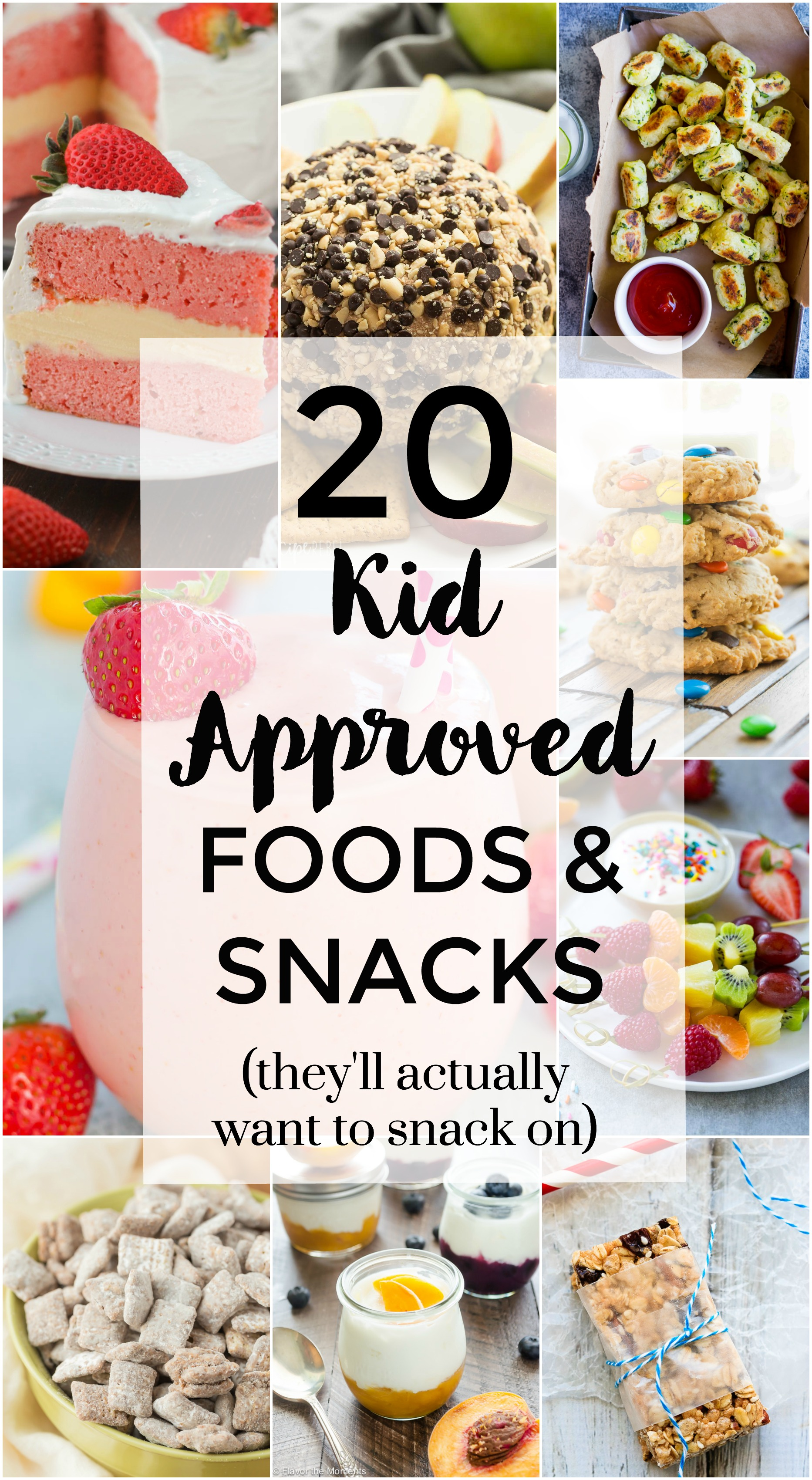 20 Kid Approved Foods & Snacks