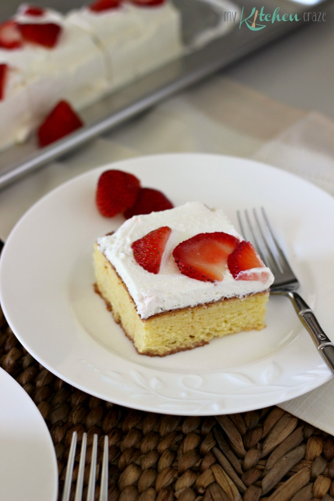 Tres Leches Cake 1