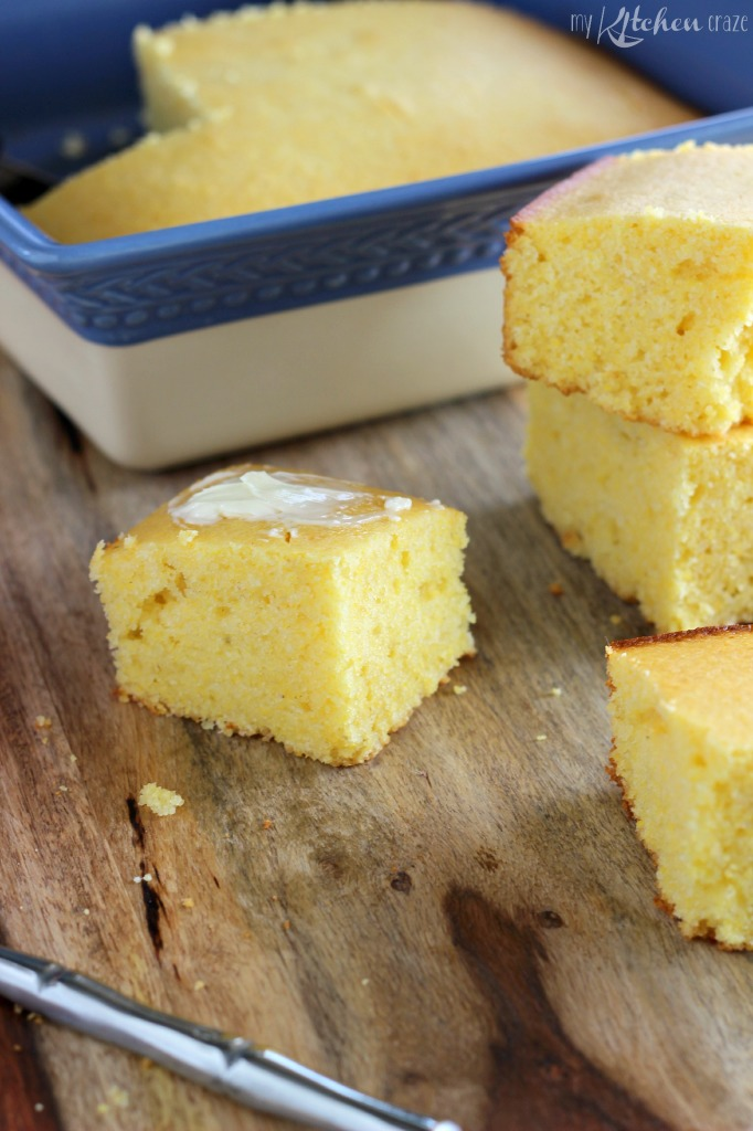 Easy Buttermilk Cornbread 1