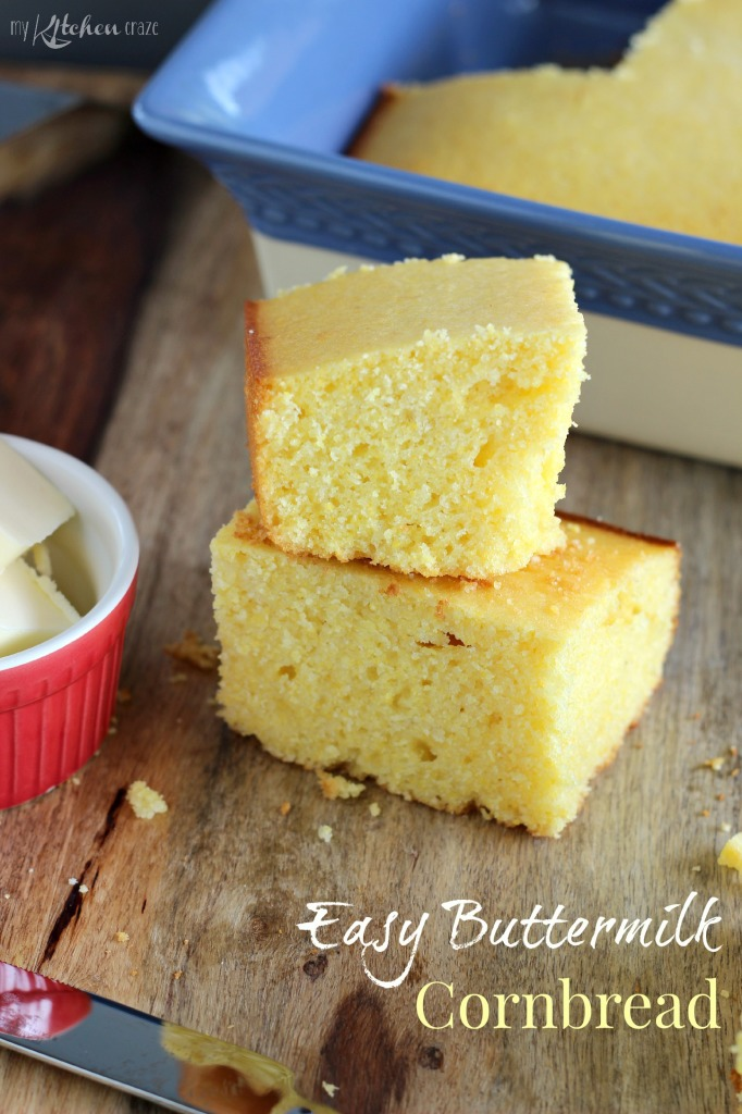 Easy Buttermilk Cornbread