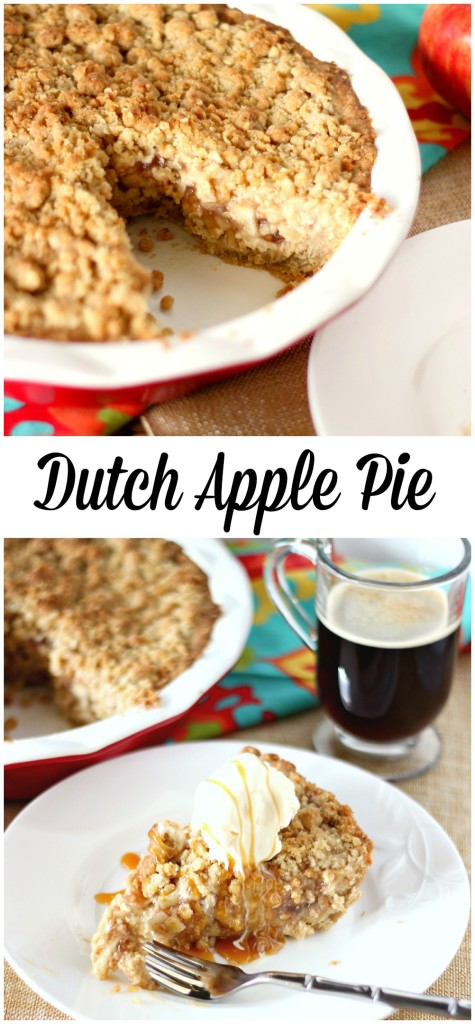 Dutch Apple Pie l My Kitchen Craze