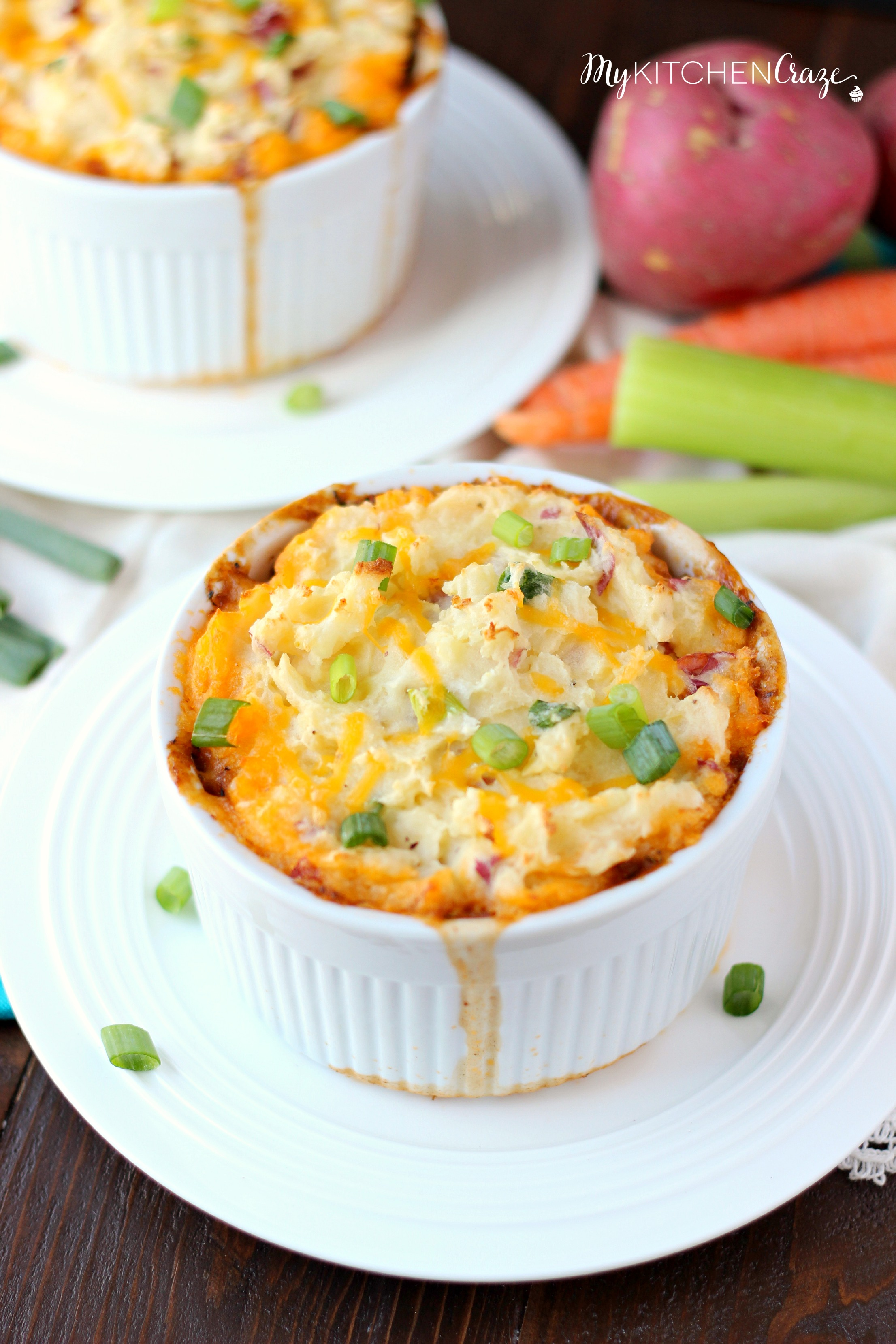 Turkey Shepherd's Pie ~ mykitchencraze.com