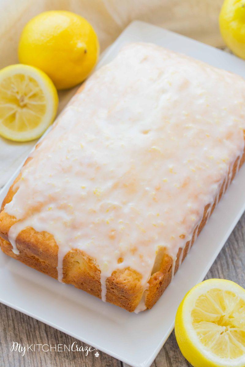 Lemon Yogurt Loaf Cake My Kitchen Craze