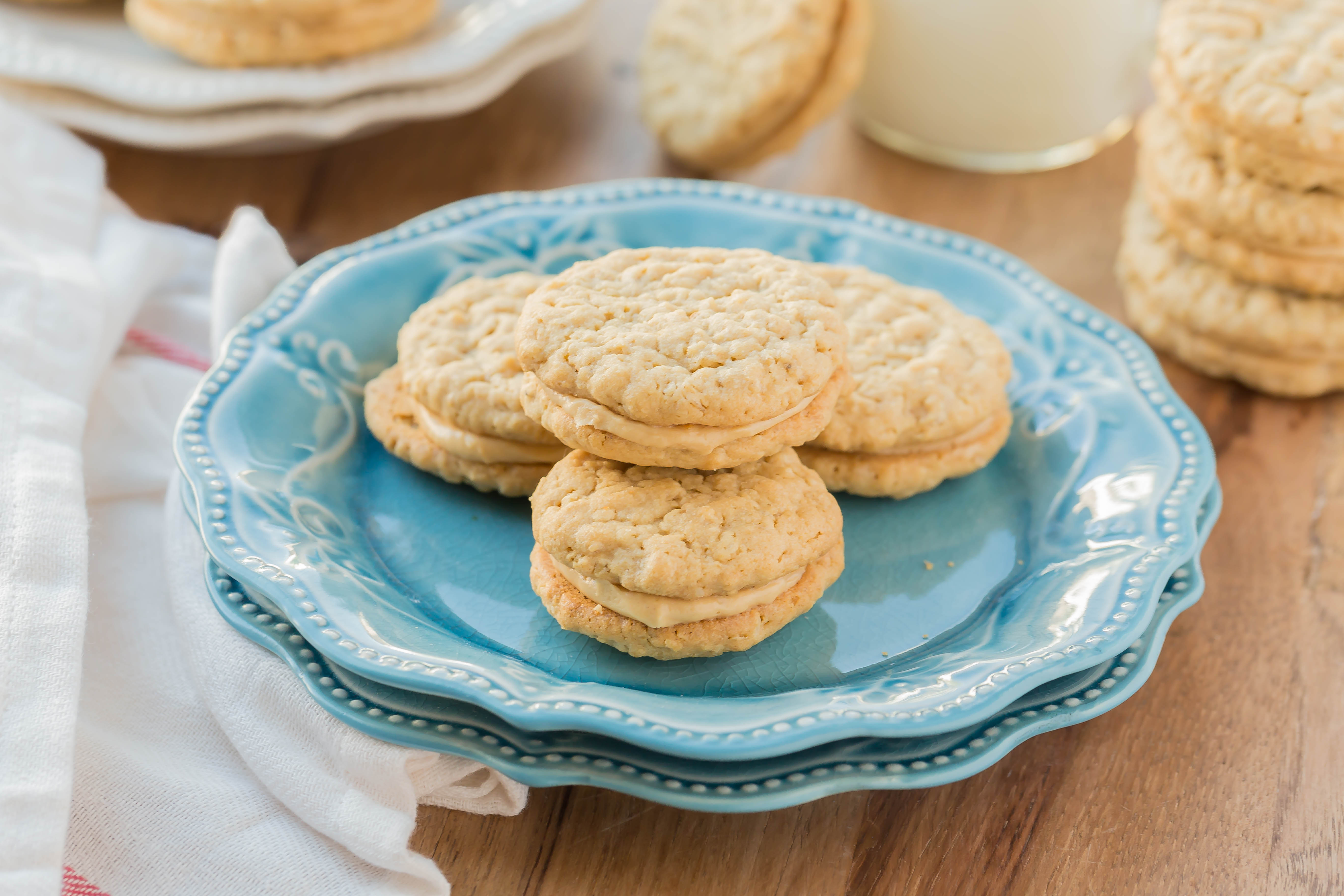 Peanut Butter Sandwich Cookies - My Kitchen Craze