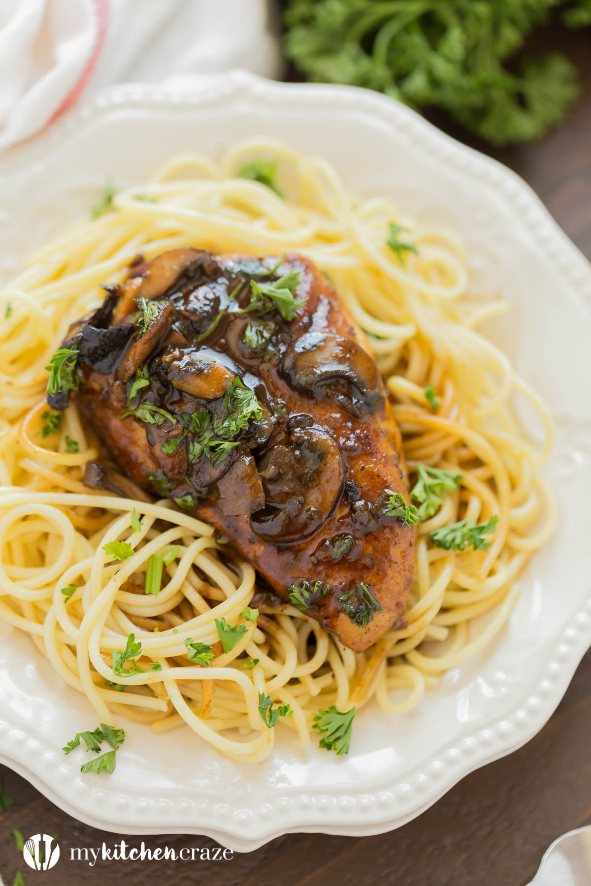 30 Minute Chicken Marsala is loaded with tons of flavor and ready within 30 minutes. This Chicken Marsala is perfect served with noodles or mashed potatoes. It's a win win for a quick meal!