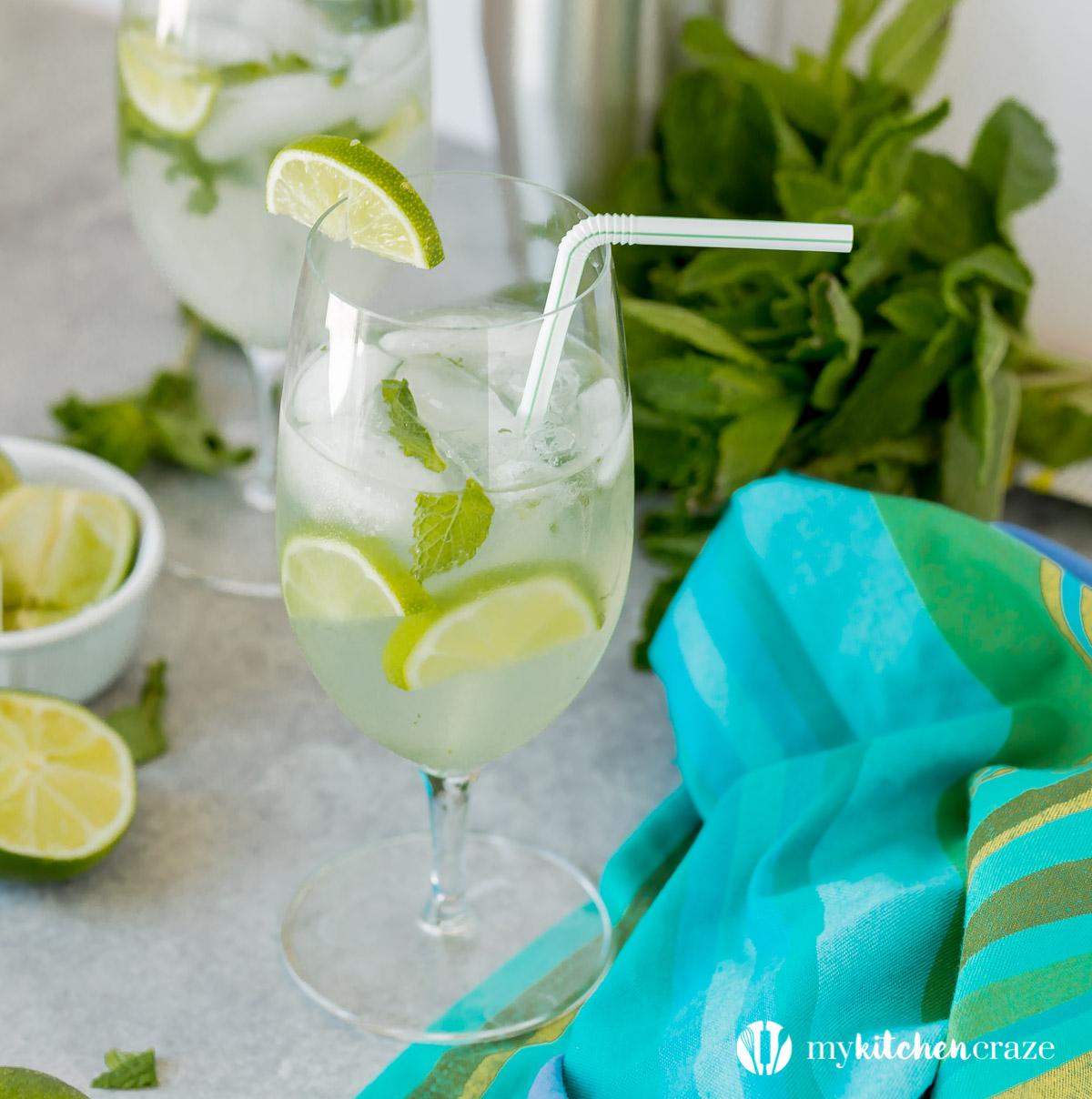 Easy Mojito Cocktail