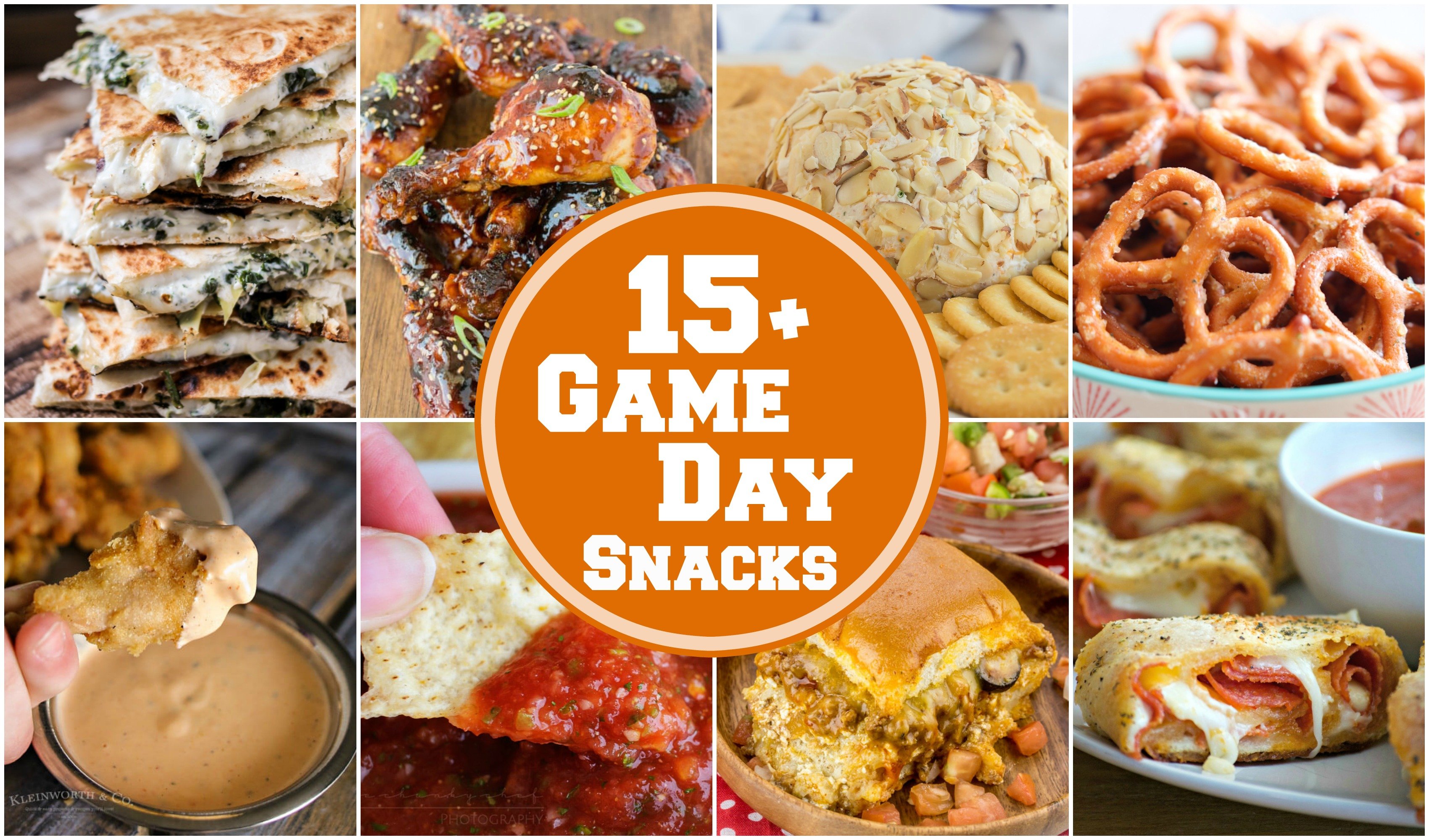best game day snack recipes